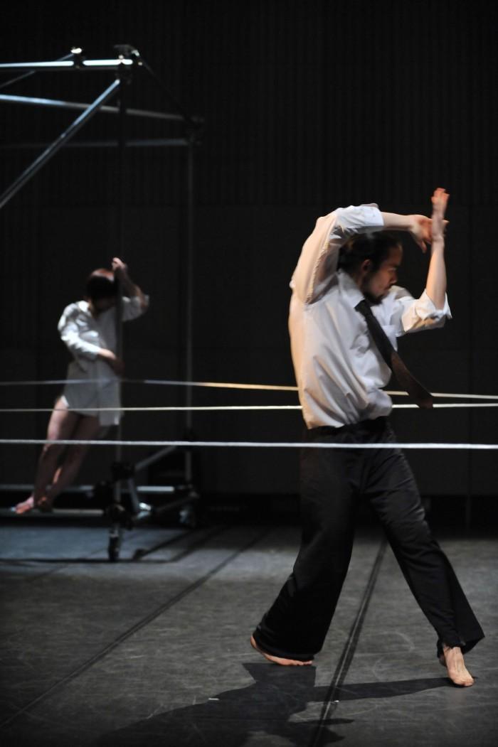 Shintaro Hirahara. A Fondo. Provisional Danza - Transparence Dance Studio