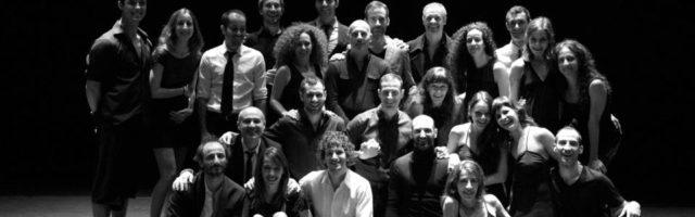 Dancers of Provisional Danza. 25th Anniversary
